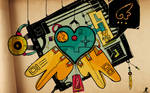 Hanabi heart : Wallpaper WS