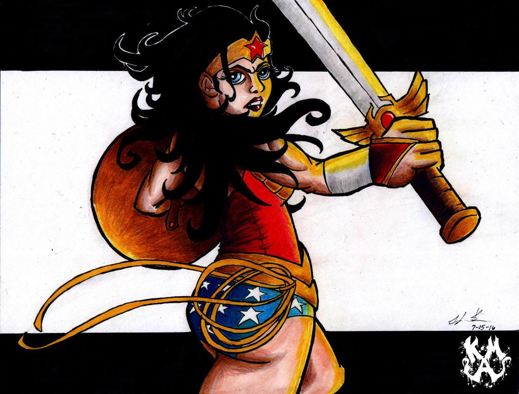 Wonder Woman by Kaz-MagicArts
