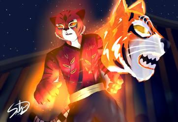 The true Dragon Warrior - Kung Fu Panda by FoxKenway