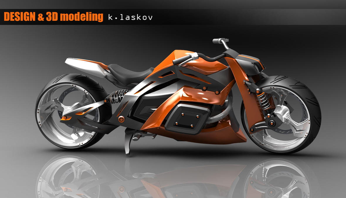 motorcycle design on - photo #5