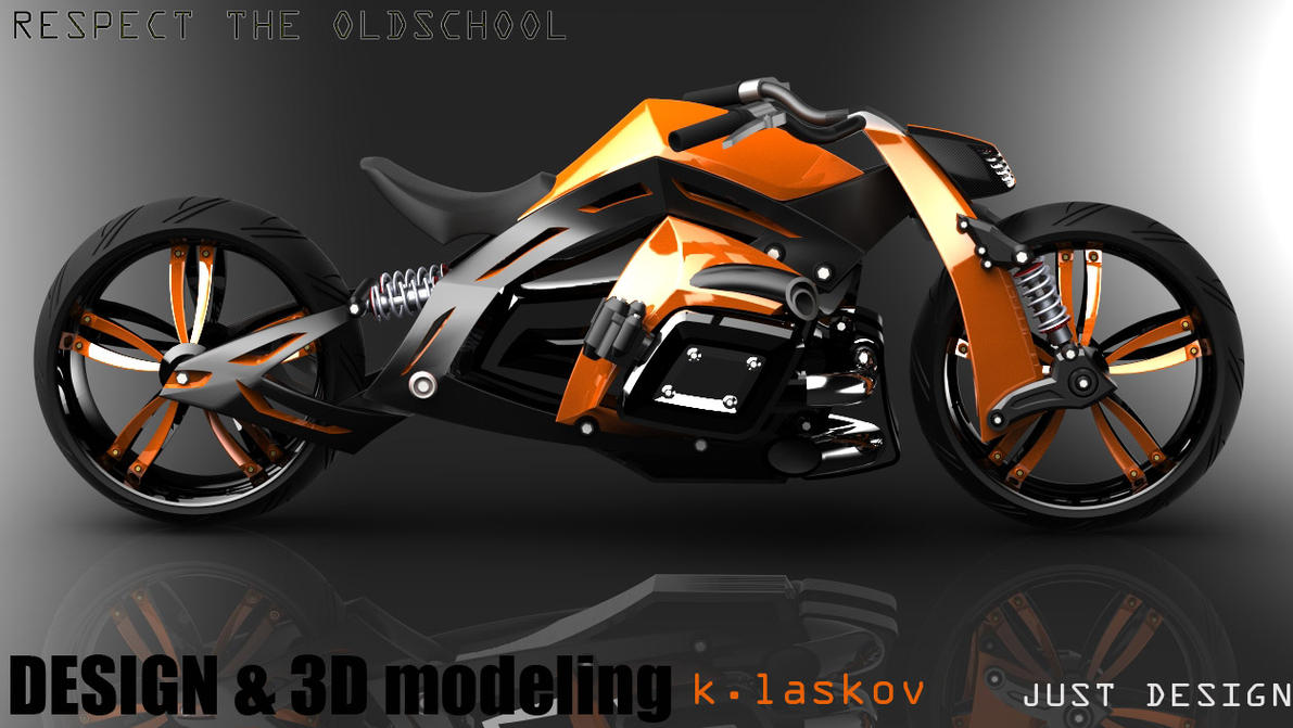 motorcycle design on - photo #18