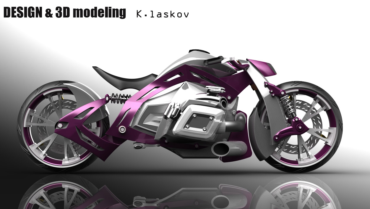 motorcycle design on - photo #4