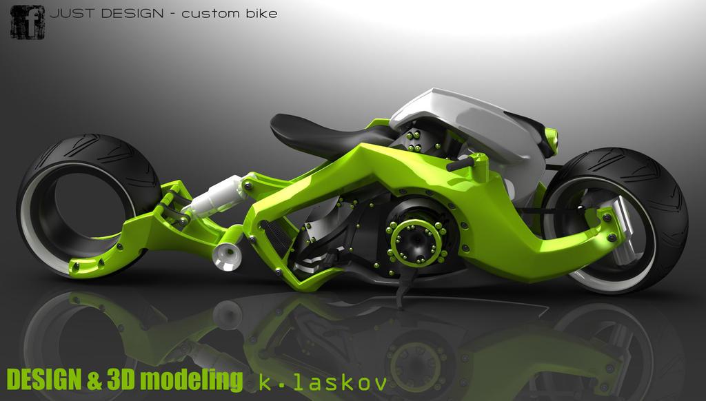 Future Custom Bike By Konkon49 On Deviantart
