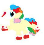 3 Point Clown Themed Potion Pony