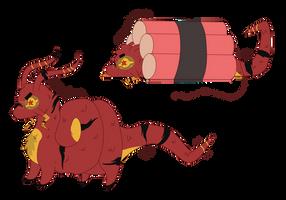 [Snyails] Firecracker by joshiepopop