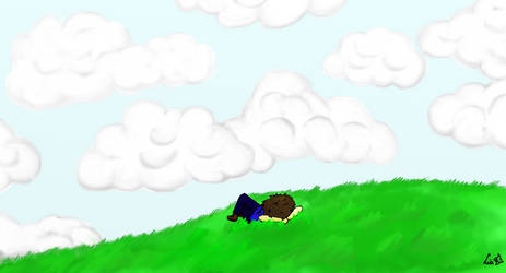 watching the clouds