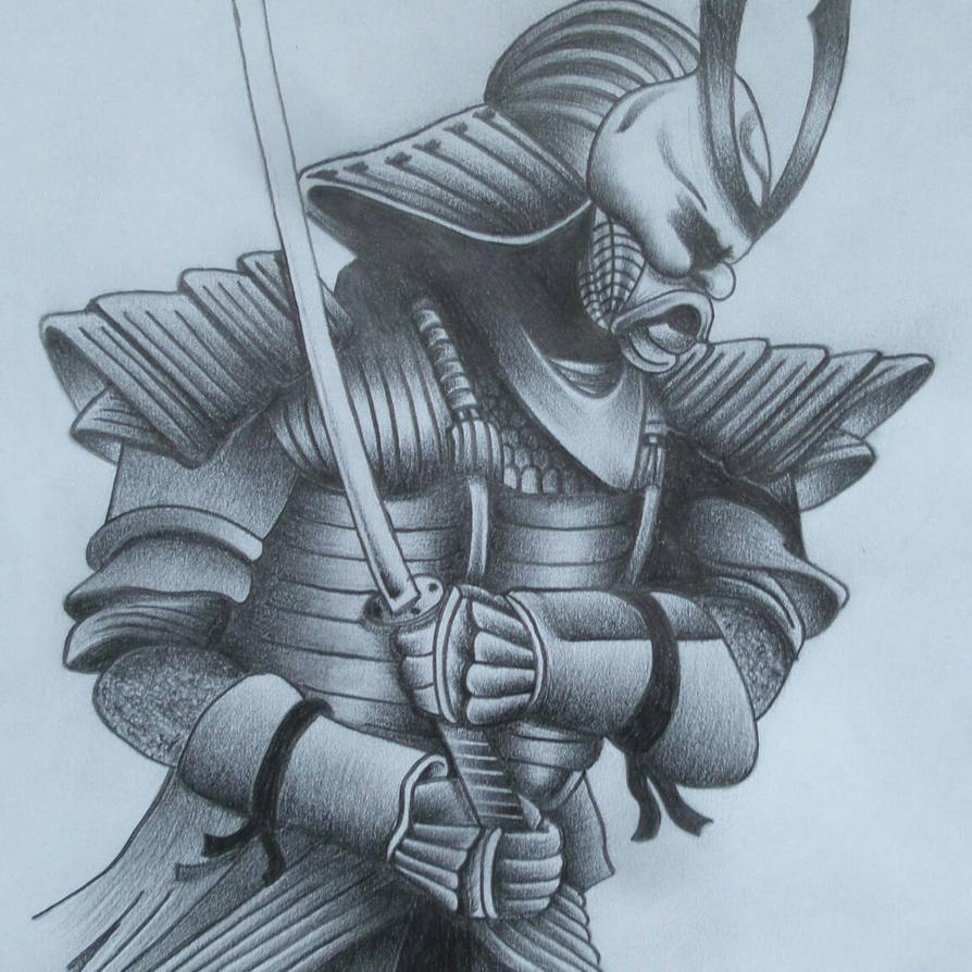 Samurai Warrior By Insane Wayne