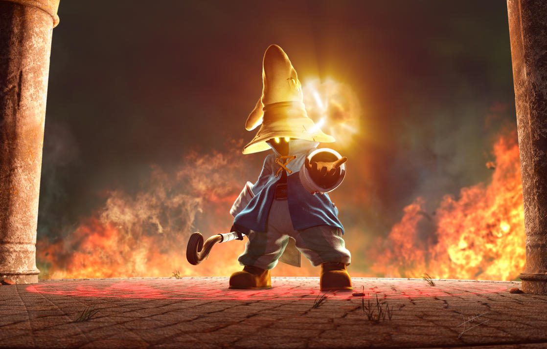 Vivi Final Render by John-Lozano