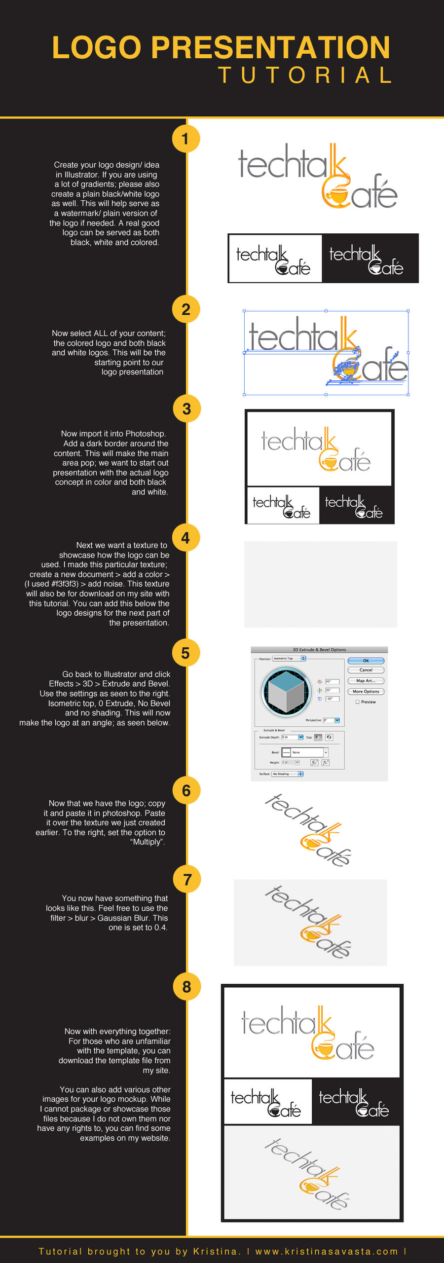 Simple Logo Presentation Tutorial by Tylon