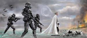Star Wars Rouge One Director Krennic Arrives by AshleyClapperton