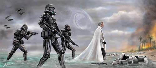 Star Wars Rouge One Director Krennic Arrives