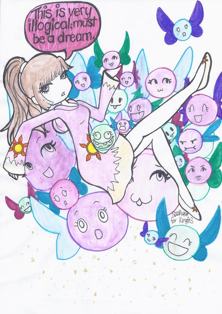 Teruko Dreams for kingofe3 by SpazMuse