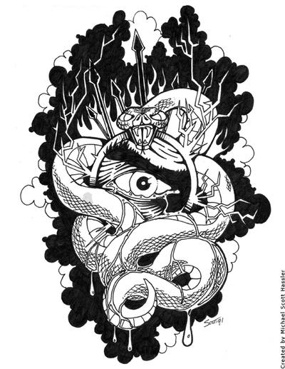 All Seeing Eye By Hassified