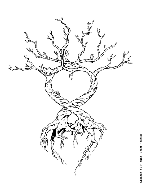 tree of life by hassified on deviantart. Black Bedroom Furniture Sets. Home Design Ideas