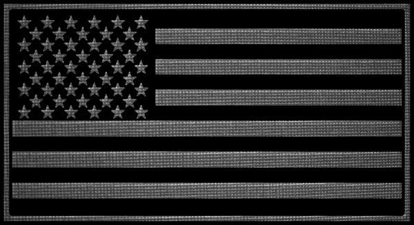 Grey US Flag Patch by hassified