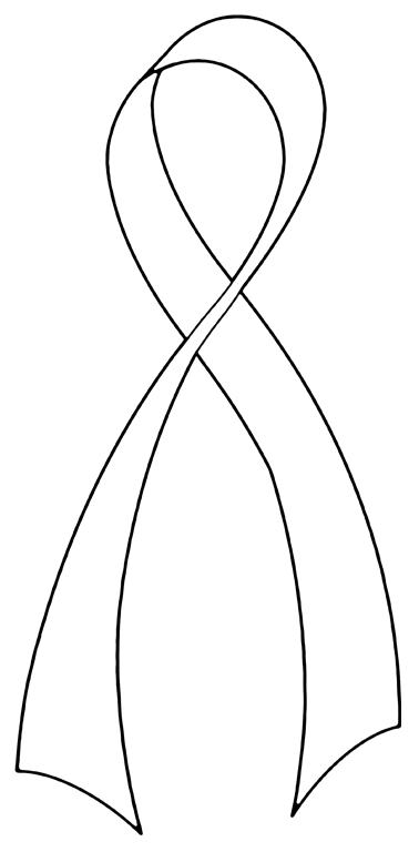 Line Art Ribbon : Support ribbon line art by hassified on deviantart