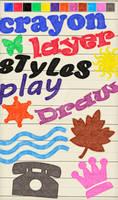 12 Crayon Layer Styles