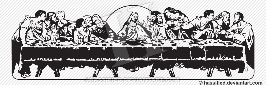 The Last Supper By Hassified On Deviantart