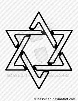 Star of David SVG