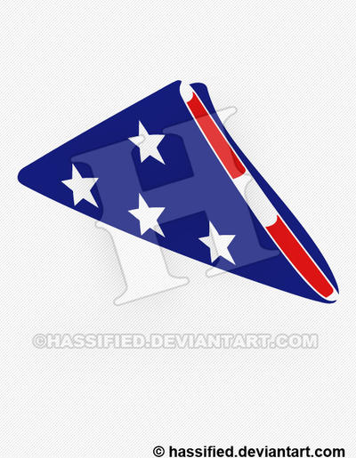 Folded American Flag By Hassified On Deviantart