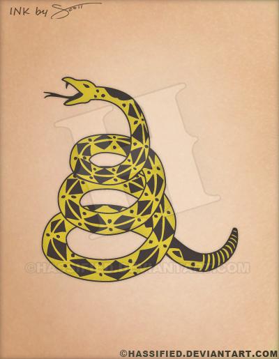 Gadsden Tattoo Designs
