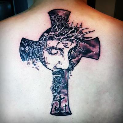 Jesus Cross Tattoo by hassified on DeviantArt