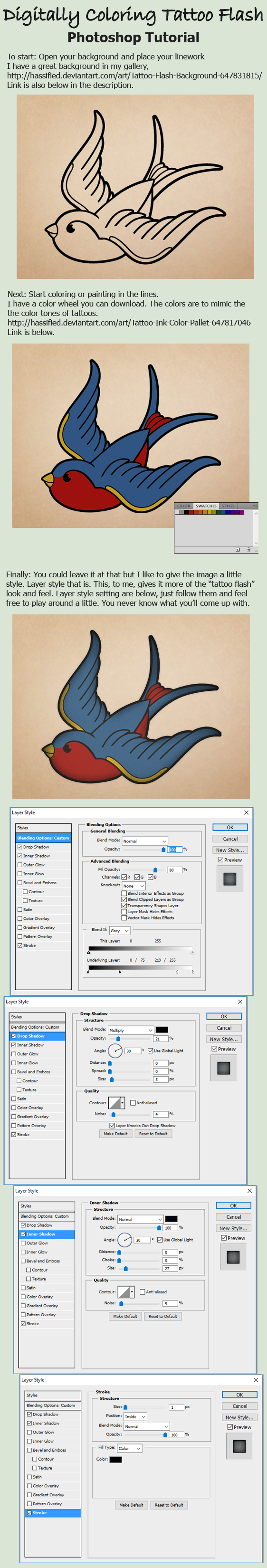 Digitally coloring tattoo flash tutorial by hassified on deviantart digitally coloring tattoo flash tutorial by hassified digitally coloring tattoo flash tutorial by hassified baditri Images