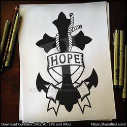 Hope Anchor SVG