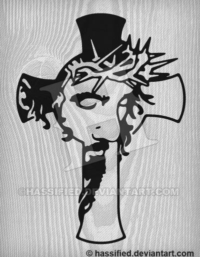 Jesus Cross by hassified