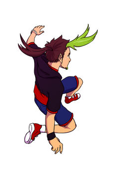 Falling Jay