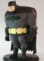 Dark Knight Animated-Style Maquette 01 by JFSculpts