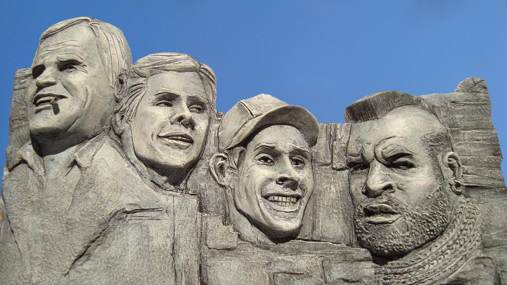 A-Team Mount Rushmore