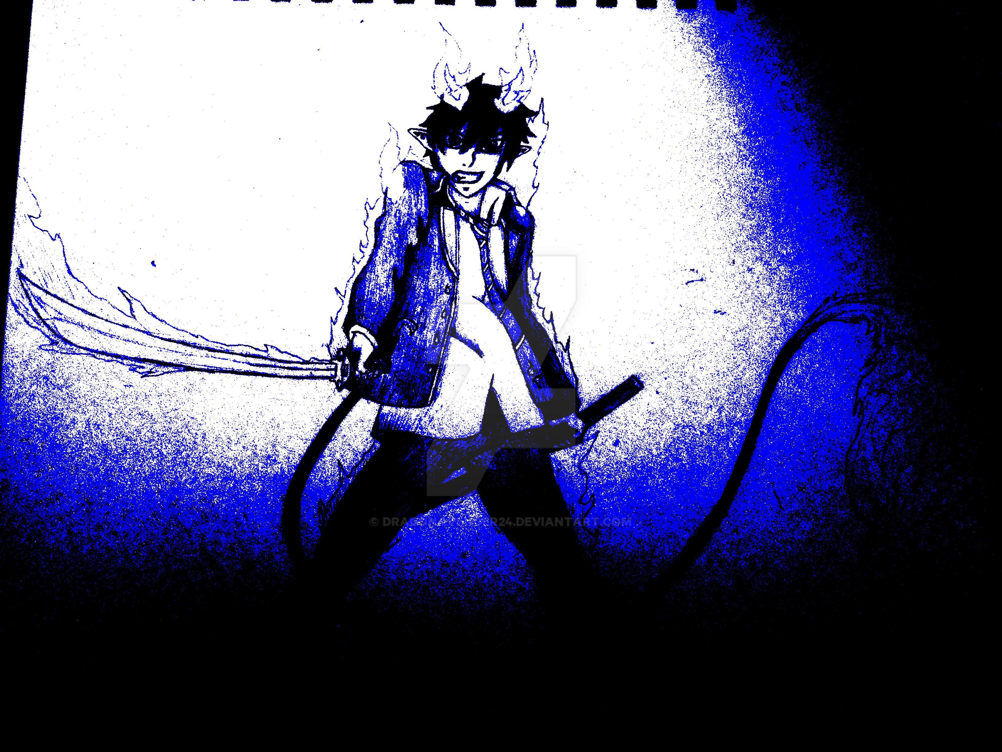 Rin Blue xcf by DragonAvenger24