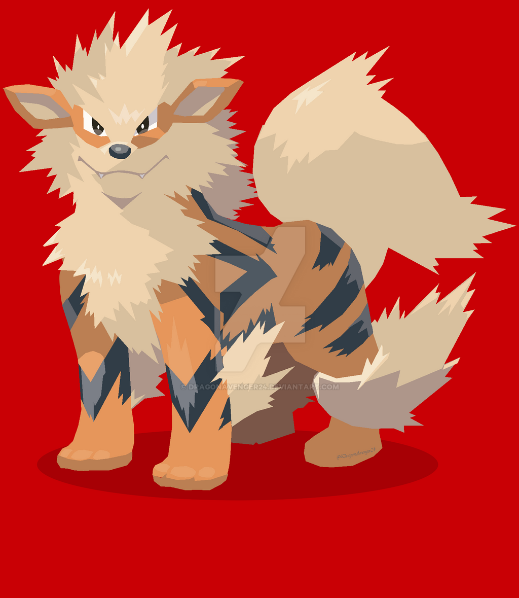 Arcanine by DragonAvenger24