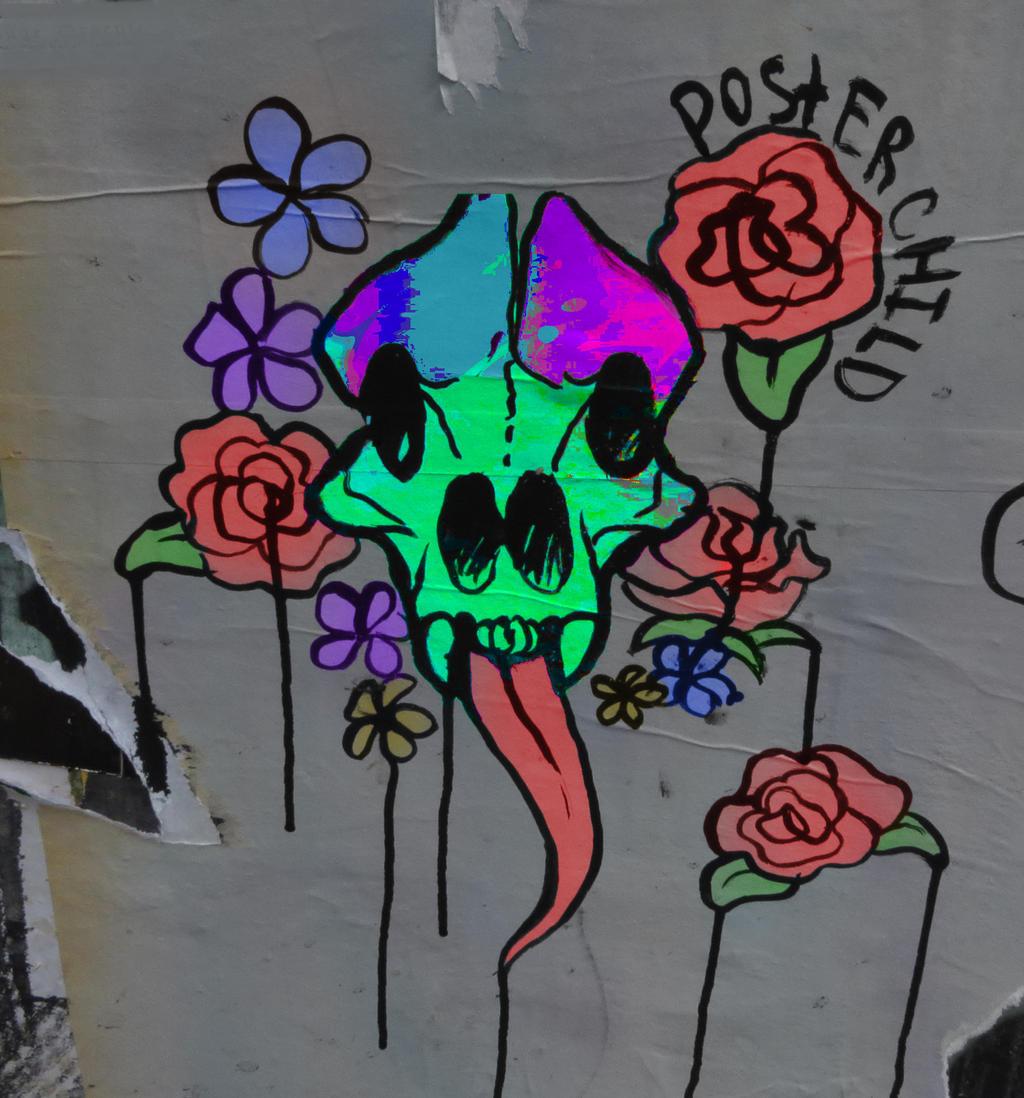 Pike Place Street Art by DragonAvenger24