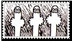 Hattifattener stamp by Tuonenkalla