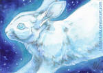 ACEO: White Planets I