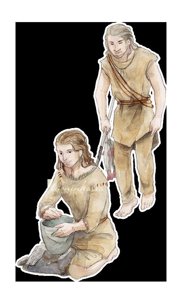 La Vie à Laetolia Prehistoric_settlement_by_tuonenkalla-d8l14er