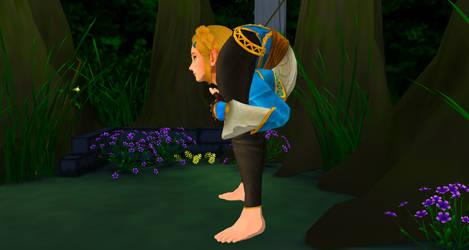 Zelda Backbend 2