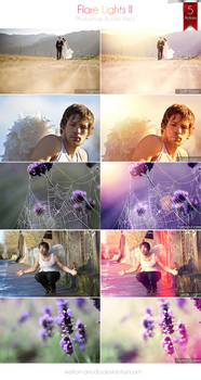 Flare Lights Photoshop Action Pack II