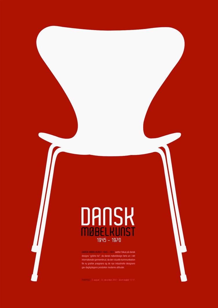 Danish Furniture 1945-1970 red by kejensen on DeviantArt