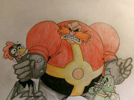 Fleetway Robotnik in the AoSTH universe.