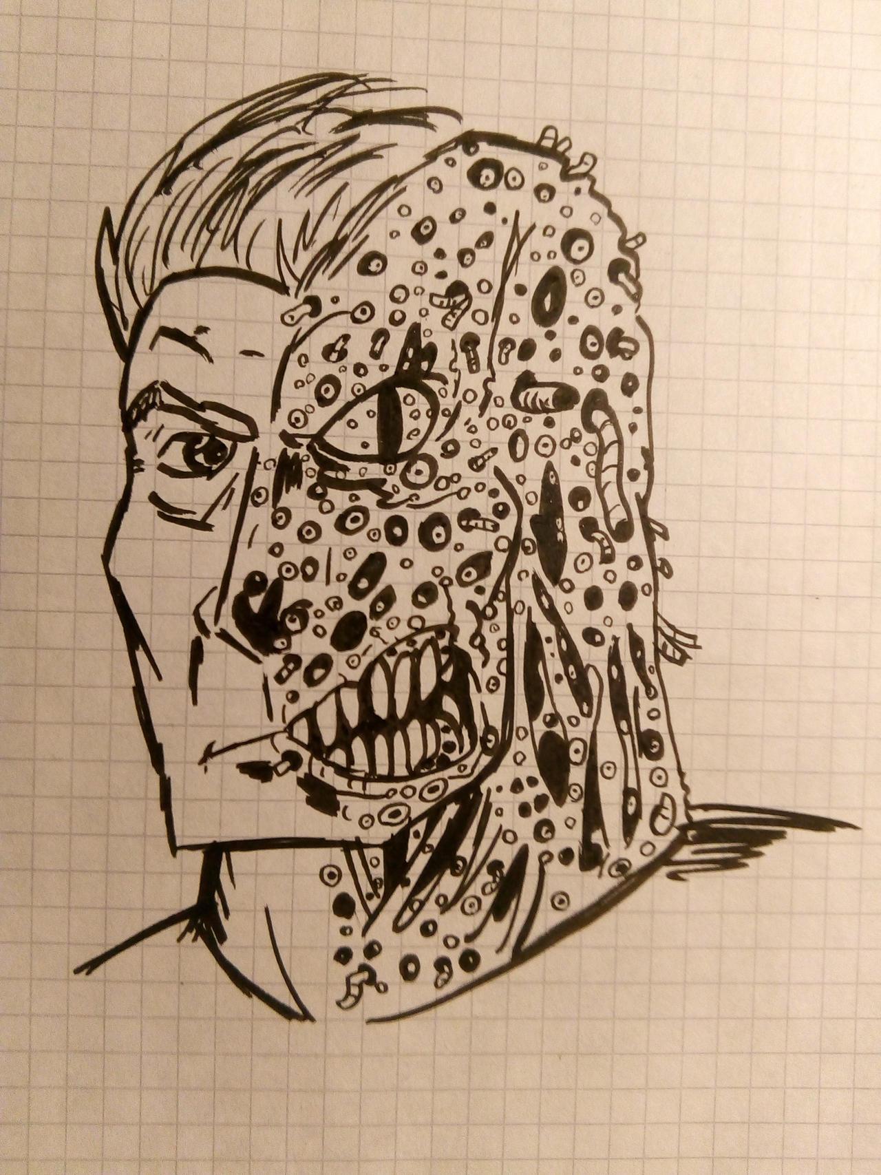 Trypophobia Two Face By Julianivorobotnik On Deviantart