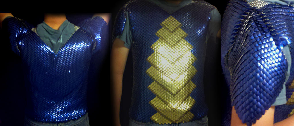 Dragon scale maille terre scales by terreflare on deviantart