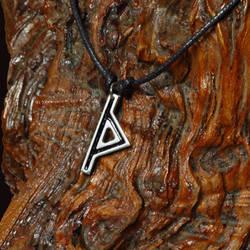 Thurisaz Rune Pendant