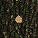 Celtic Knot , wooden pendant