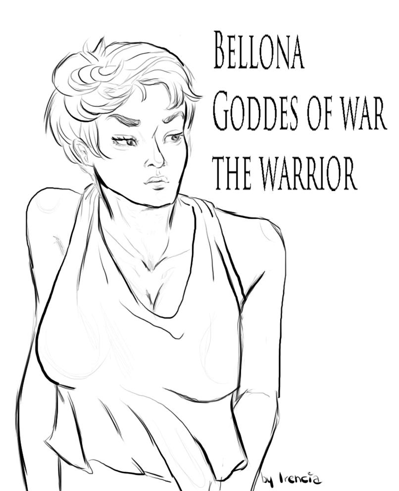 Bellona uncolored by Irencia