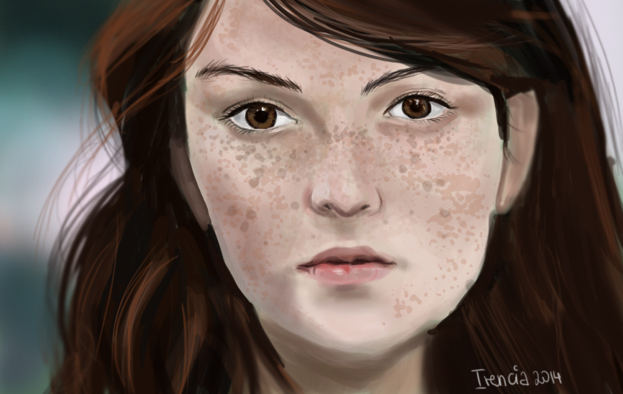 Freckles by Irencia