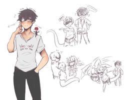 Jian doodles by SolitaryHideAndSeek