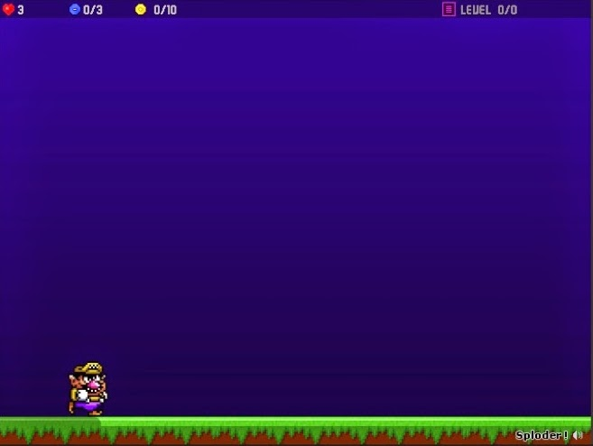 Screenshot For Wario Kid's Game by Pickm